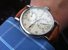 Chronoswiss Regulateur: Gentlemen, ladies love men who know how to accesories, especially watches... don't where the some old boring one.