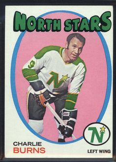 1971 Topps #21 Charlie Burns North Stars (EX/MT) *424087