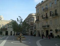 Nizami ul., Baku, Azerbaijan.