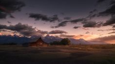 Sunset at mormon row by Renè Colella on 500px