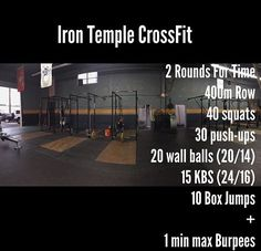 Quick crossfit workout