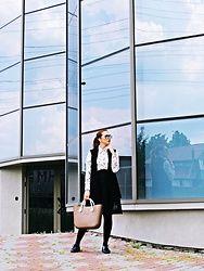 Daniela Macsim - Romwe Shirt, Romwe Skirt - Office look People Around The World, Real People, Office Skirt, Office Looks, Romwe, Skirts, Shopping, Fashion, Moda