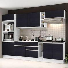 Quer deixar sua cozinha mais funcional? Este móvel, é ideal pra você! Com seu grande espaço interno, ajudará a deixar seu ambiente organizado, facilitando seu dia-a-dia. Além de possuir um visual elegante, proporcionando um ambiente muito sofisticado. ;) #decoração #design #madeiramadeira