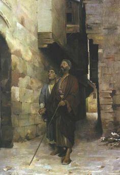 Ράλλης Θεόδωρος – Rallis Theodoros [1852-1909]Τυφλός που οδηγεί τυφλόν