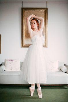A 'Swan Lake' Inspired Wedding