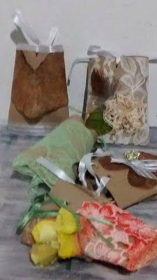 Diy Vintage , Shabby Chic , Retrô e Reciclagem: Embalagens para Presente Shabby Chic com rolinhos ...