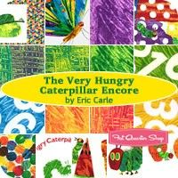 The Very Hungry Caterpillar Encore Fat Quarter Bundle Eric Carle for Andover Fabrics