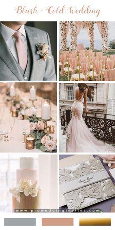 Blush Wedding Colors, Wedding Color Pallet, Summer Wedding Colors, Wedding Color Schemes, Wedding Blush, Blush Wedding Palette, Tuxedo Wedding, Color Themes For Wedding, Wedding Color Palettes