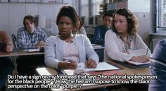 Still makes me laugh Freedom Writers Quotes, Writer Quotes, Series Movies, Movie Characters, Movies Showing, Movies And Tv Shows, Favorite Movie Quotes, Dangerous Minds, Good Movies