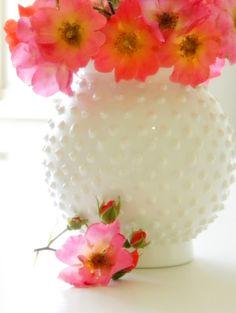 Replicate hobnail glass