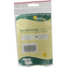 HANDSCHUHE Vinyl Anti Aids:   Packungsinhalt: 4 St Handschuhe PZN: 02549747 Hersteller: Careliv Produkte OHG Preis: 0,69 EUR inkl. 19 %…
