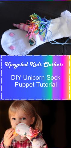 Sock Puppet Unicorn Tutorial More
