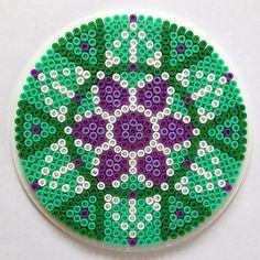 Mandala hama beads by knitirene
