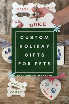 Create a lasting impression of your best friend with this single ceramic paw print. Capture your pet's puppy print and include a birth date or a name. Regardless of your pet's age, this paw print will be cherished forever. Custom imprints are not limited to dogs only, we make imprints for any furry friend! Customize the color and unique icons….or add an ornament. Dog Dad Gifts, Dog Lover Gifts, Gifts For Dad, Holiday Gift Guide, Holiday Gifts, Secret Santa Gifts, Star Ornament, Holiday Tree, Christmas Dog