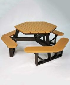 Outdoor Premier Polysteel Chamption Ft Rectangle Commercial - Commercial outdoor picnic table store