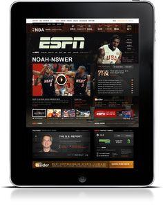 ESPN.com Refresh  Designed by tofslie