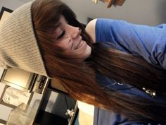 scene hair with beanie - Google Search