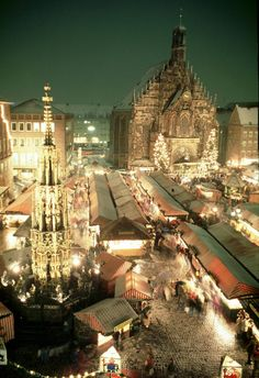 Nuremburg Christmas Market ~~  One of my favorite cities and the best Christmas market I have ever been to. Have been four years in my lifetime. I highly recommend it. esc.