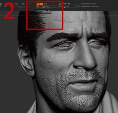 first brush I use to shape the basic shape of hair is Groomer strong(1) with intensity level 10(2), if you go with 100 , It wouldn't be that cool. An important thing about brushing hair in zbrush is that you should get really close to the place where you want to brush(3), if you do it in distance, hair roots tent to bend and lose their touch to the surface of the head. After getting the basic hair style, I use 3 other brushes more than the rest, Groom lengthen, Groom spike, Groom…