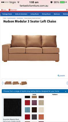Modular lounge fantastic furniture $700  sc 1 st  Pinterest : fantastic furniture chaise lounge - Sectionals, Sofas & Couches