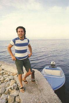 Love Blue, Paul Mccartney, The Beatles, Panama Hat, Film, Music, Blue Skies, Wings, Color
