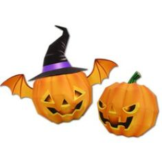 Lanterne de citrouille,Jouets,Créations en papier,Halloween,fête,orange,Potiron,décoration,Lanterne