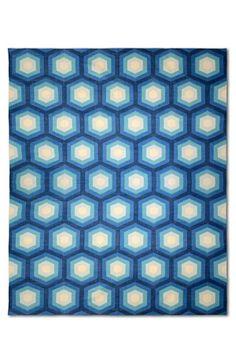 Dhurrie designer series - Icon blue Fenton and Fenton Textures Patterns, Print Patterns, Pattern Print, Interior Styling, Interior Design, Homewares Online, Interior Architecture, Color Pop, Flooring