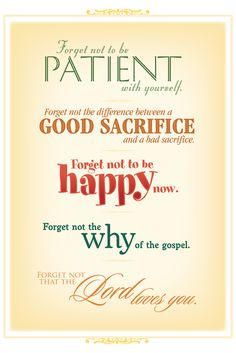lds quotes - i like this guy's design style - refreshing!