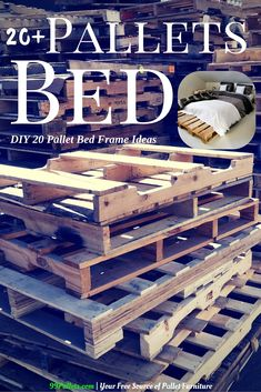 DIY 20 Pallet Bed Frame Ideas - 99Pallets