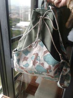 El yapımı dağ sırt çantası
