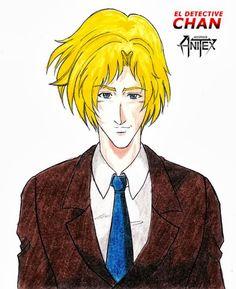 DETECTIVE CHAN: Ilustración de Sargento KEN [Medio Cuerpo] por PASCUAL | PASCUAL: Mis Dibujos de Anime Manga