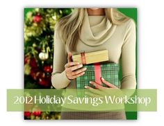 Join me in #Colorado on November 3rd for the 2012 Holiday Savings Workshop!