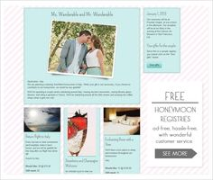 wanderable honeymoon registry, instead of gifts, have your guests donate to a honeymoon registry!