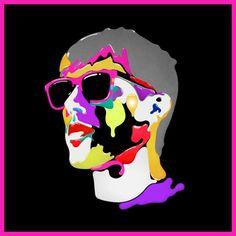 Retro and Colorful Illustrations by Steve Wilson Art And Illustration, Artist Management, International Artist, Illustrators, Character Art, Poster, Design, Legends, Identity