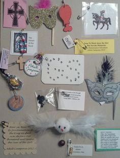 click through for notes...  swaps: Renaissance Adventure adult camporee by sharna11, via Flickr