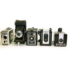 Modern Commissary: Vintage Camera Set I, at 36% off!