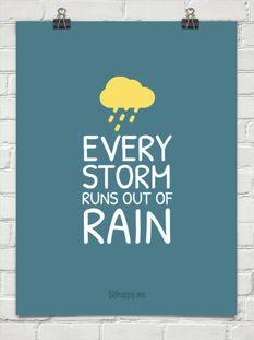 EVERY STORM RUNS OUT OF RAIN- Gary Allan