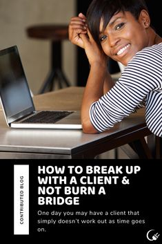 Every so often, your relationship with a client or a vendor may change and it is necessary to part ways.  Even though it may be difficult, there is a right way to go about this so all parties are able to move forward peacefully.  Click through to see tips for ending a relationship with a client without burning a bridge. #TheContentPlug Ending A Relationship, To Move Forward, New Market, Breakup, Good Times, Burns, Bridge, Parties, Social Media