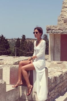 inside am-lul's closet: Look of the Day.190: Knossos Goddess #needspringvisions