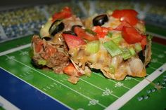 Super Nachos - Football Food!