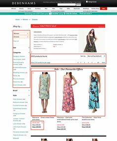 How Debenhams' site redesign led to ecommerce sales growth | Econsultancy