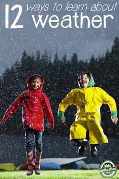 12 Hands-On Weather Activities for Kids | Kids Activities Blog