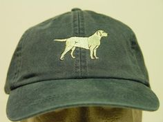 Yellow Labrador Retriever Dog Hat - One Embroidered Men Women Cap Price Embroidery Apparel - 24 Color Baseball Mom Dad Yellow Lab Gift Caps Baseball Mom, Baseball Hats, Hat Quotes, How To Wash Hats, Embroidery On Clothes, Embroidered Hats, Labrador Retriever Dog, Caps For Women, Presents