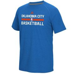 Oklahoma City Thunder adidas 2016 On-Court climalite Ultimate T-Shirt - Blue - $29.99