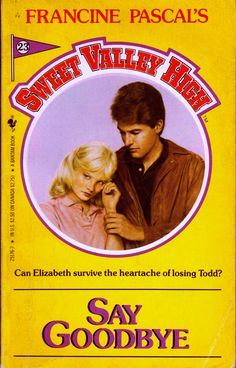 sweet valley high 23 say goodbye