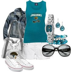 Another cute Jaguars outfit!