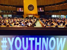 #YouthNow High-Level Meeting on the World Programme on Action for Youth - General Assembly NYC