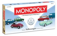 Volkswagen Monopoly Classic VW Collector's Edition