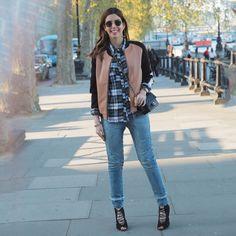 Garotas Estúpidas Camila Coutinho em Londres / Look Outfit Casual Denim Women´s Fashion / Jeans Moda Feminina Inspiração