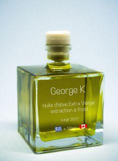 Greek Extra Virgin Olive Oil from Crete 100ml glass bottle